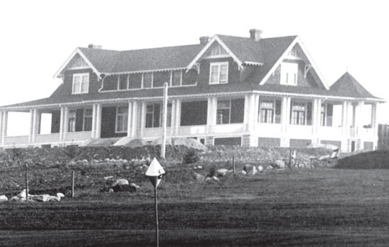 Original Shaughnessy Clubhouse